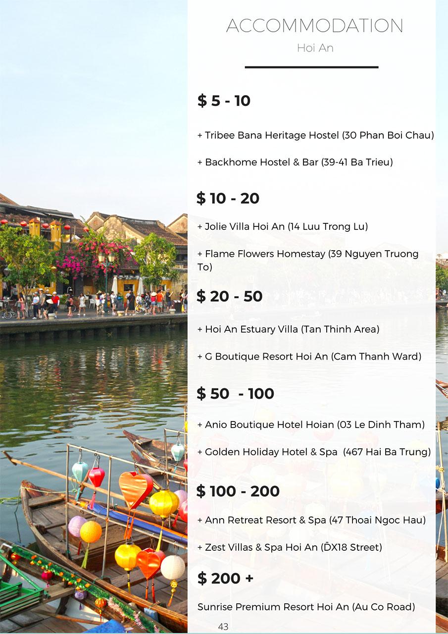 Hoi An accommodation - Vietnam