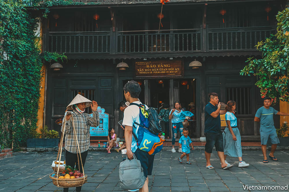 The old houses in Hoi An