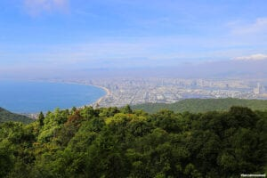 Son Tra Peninsula is the pearl of Da Nang