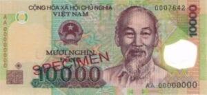 Vietnamese dong 10000 vietnamnomad