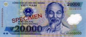 Vietnamese dong 20000 vietnamnomad
