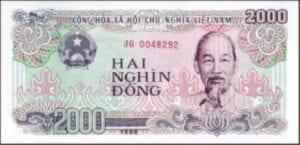 Vietnamese dong 2000 vietnamnomad
