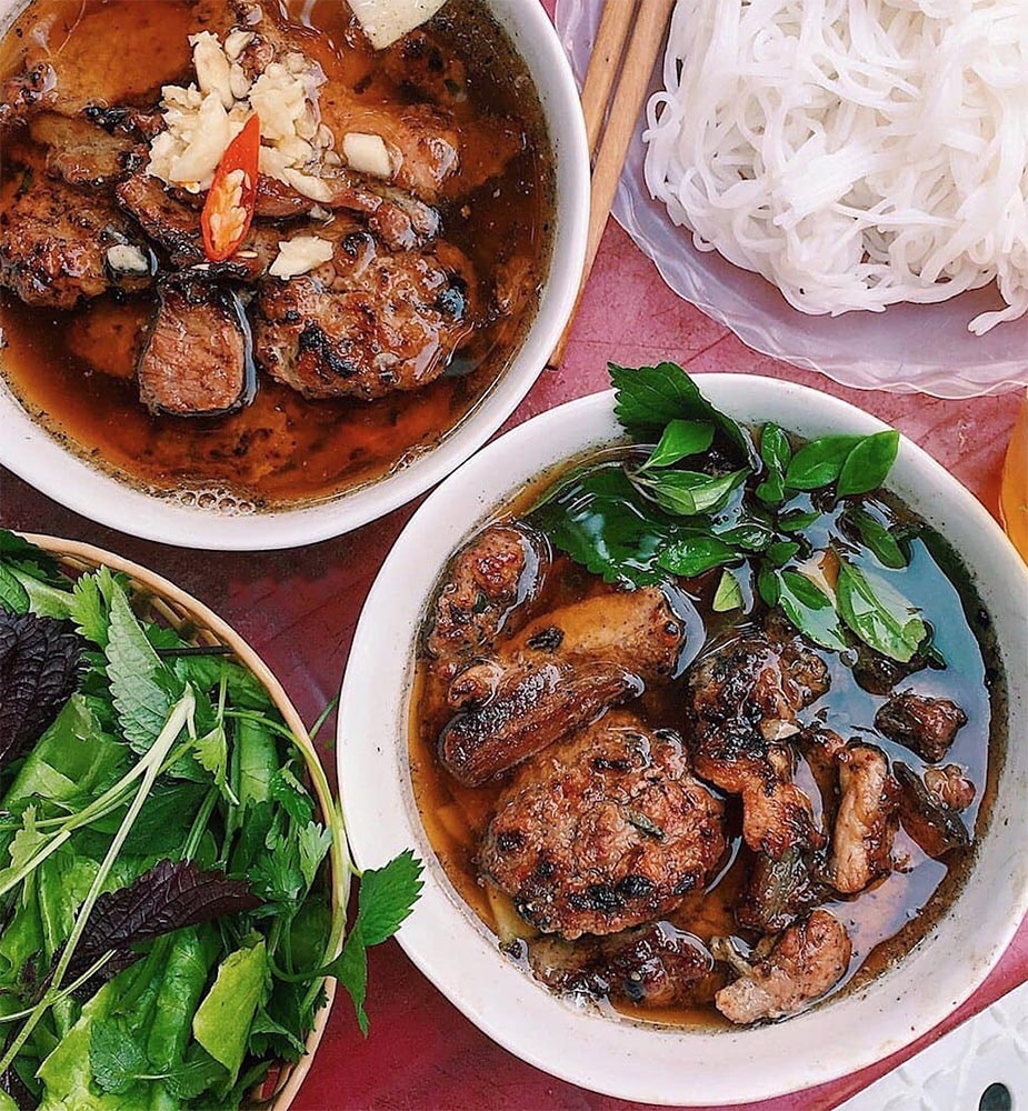 Top 8 Must-Try Foods in Hanoi - Bun Cha