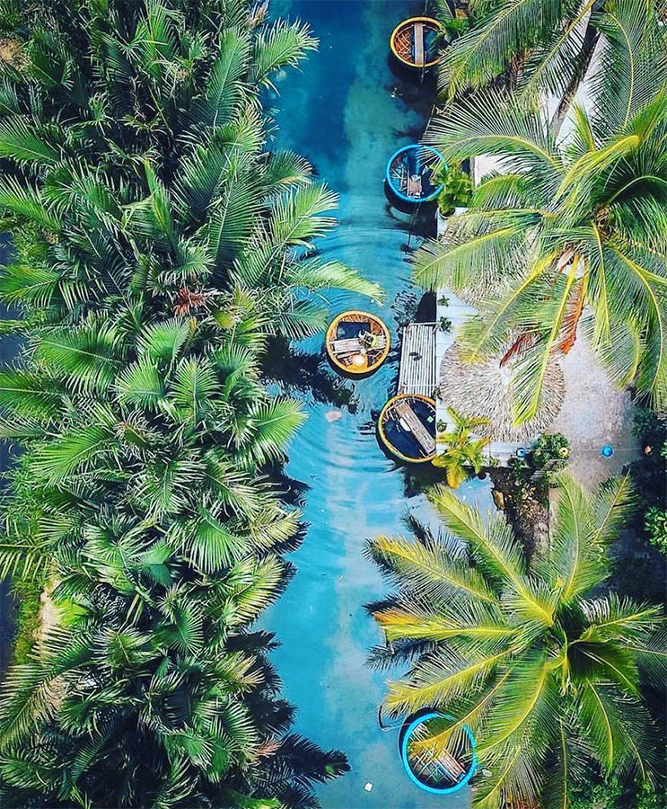 Top 8 must-visit attractions in Hoi An - Bay Mau Coconut Forest