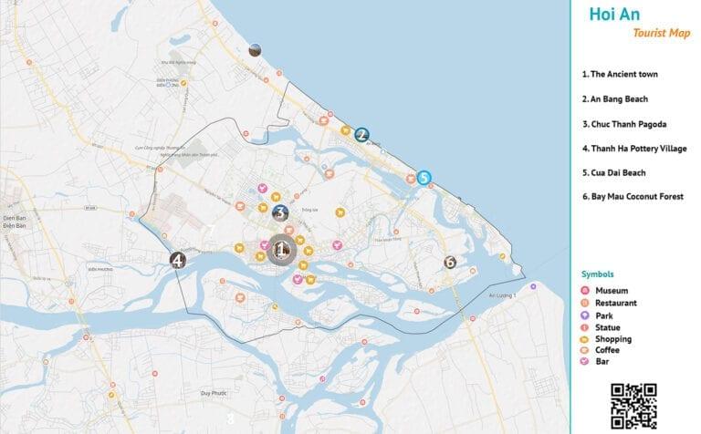 Hoi An Map - Vietnamnomad