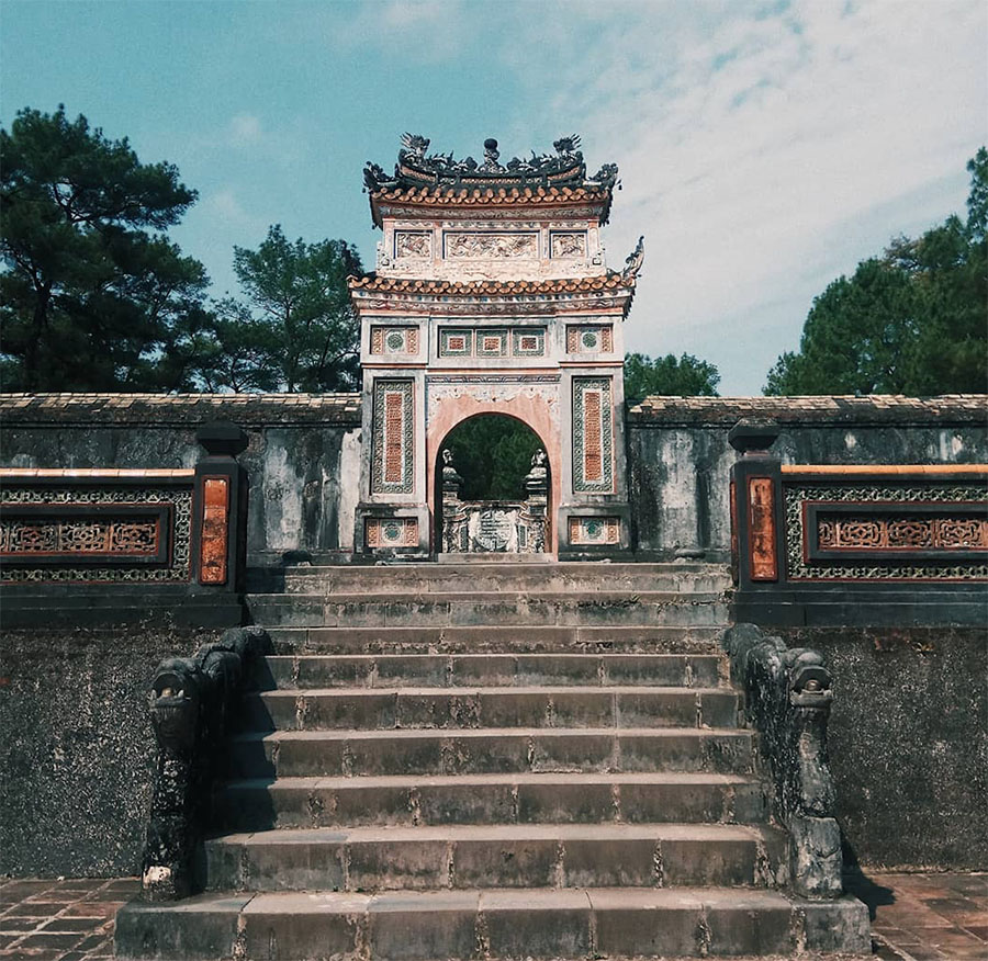 Top 8 attractions in Hue - Tu Duc Tomb