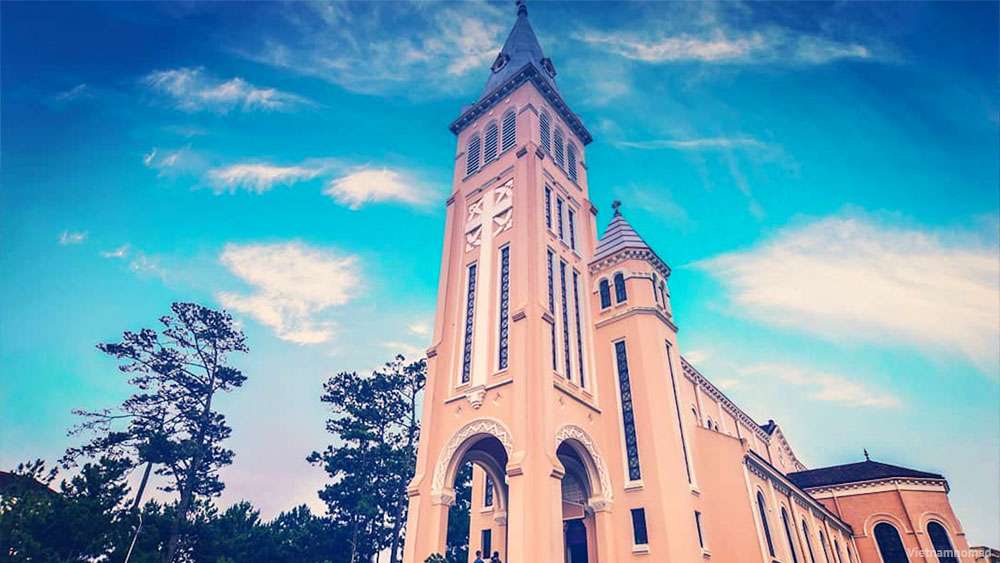 Top 12 must-visit attractions in Dalat - Dalat Cathedral