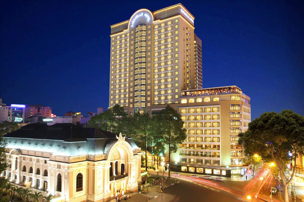 Top 5 Five-Star Hotels in Ho Chi Minh City - Caravelle Saigon