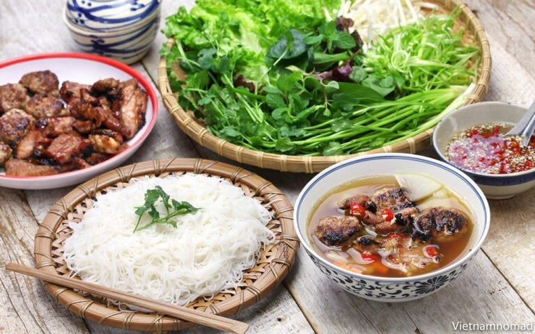 Top 15 Vietnamese Food - Bun Cha