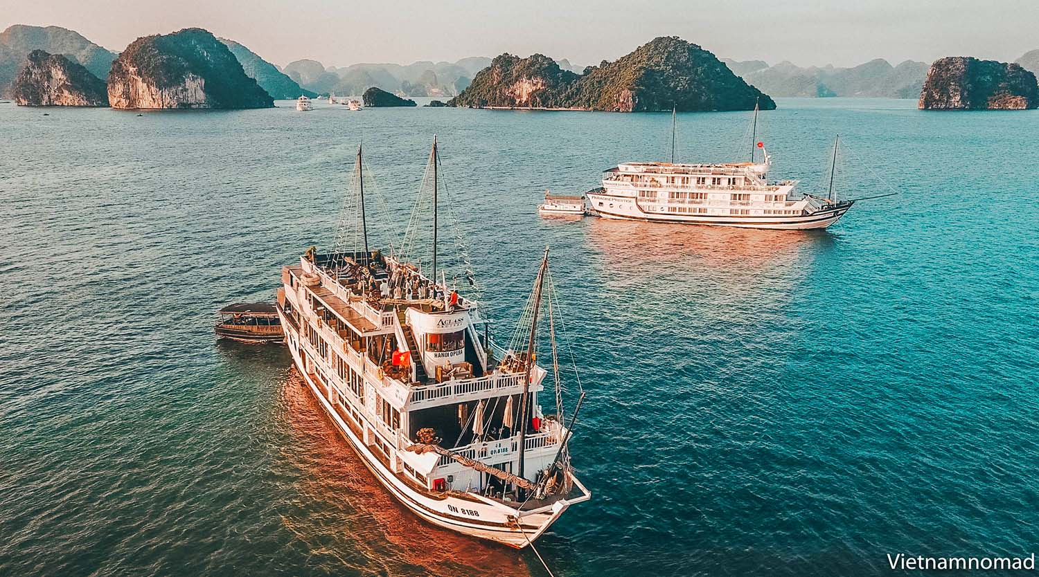 The best time to visit Ha Long Bay Vietnam is from May to October