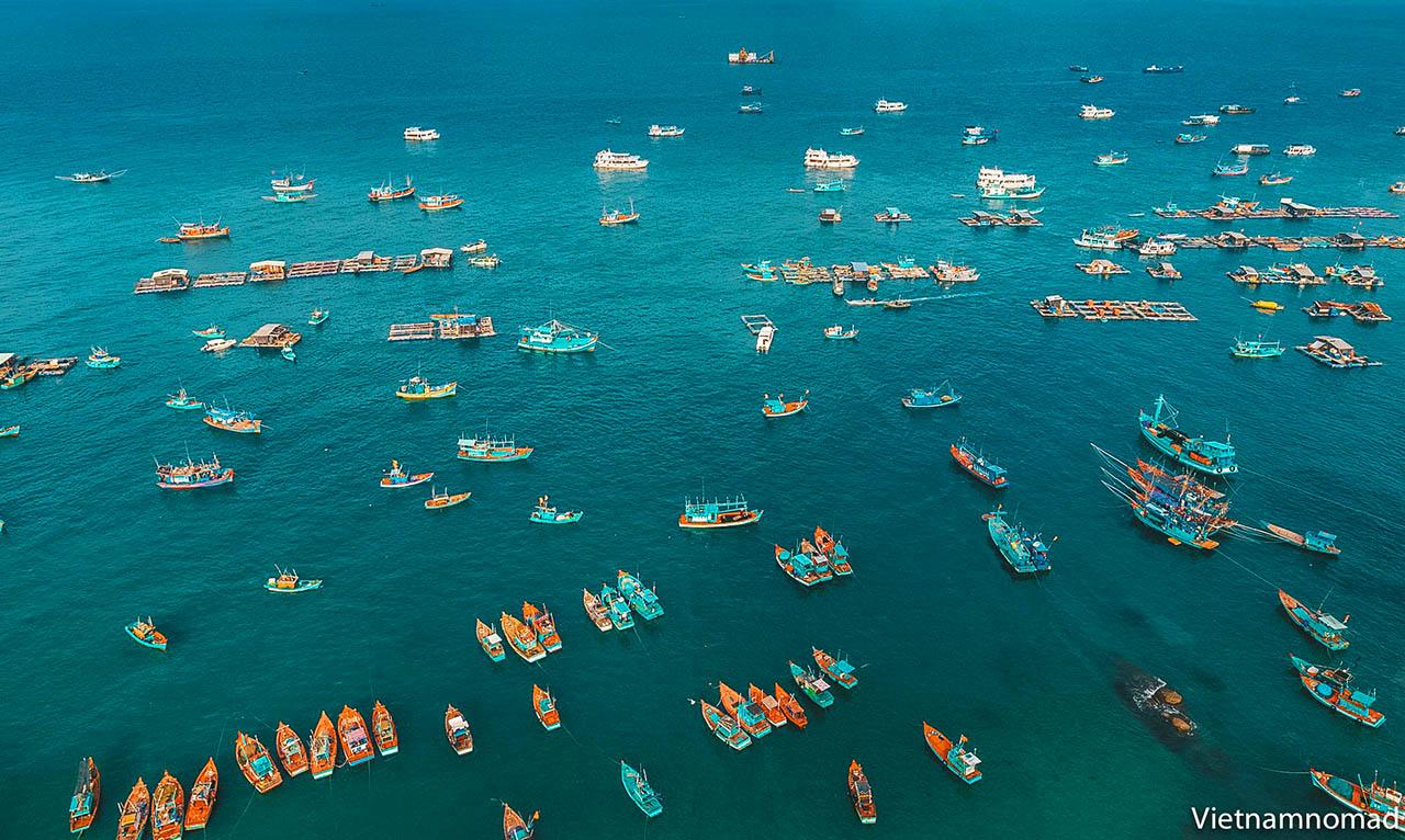 5. Ham Ninh fishing village