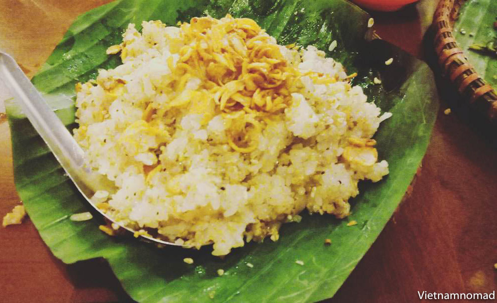 Sticky Rice with Ants Eggs