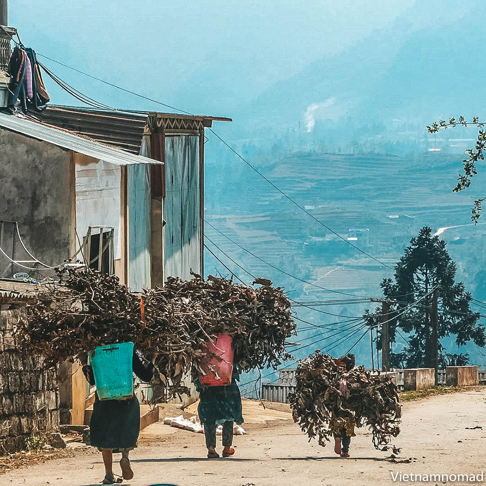 Top attractions in Ha Giang - Pho Bang Town