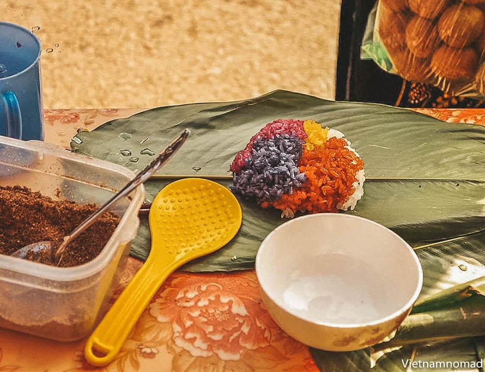 Top Ha Giang Food - Xoi Ngu Sac