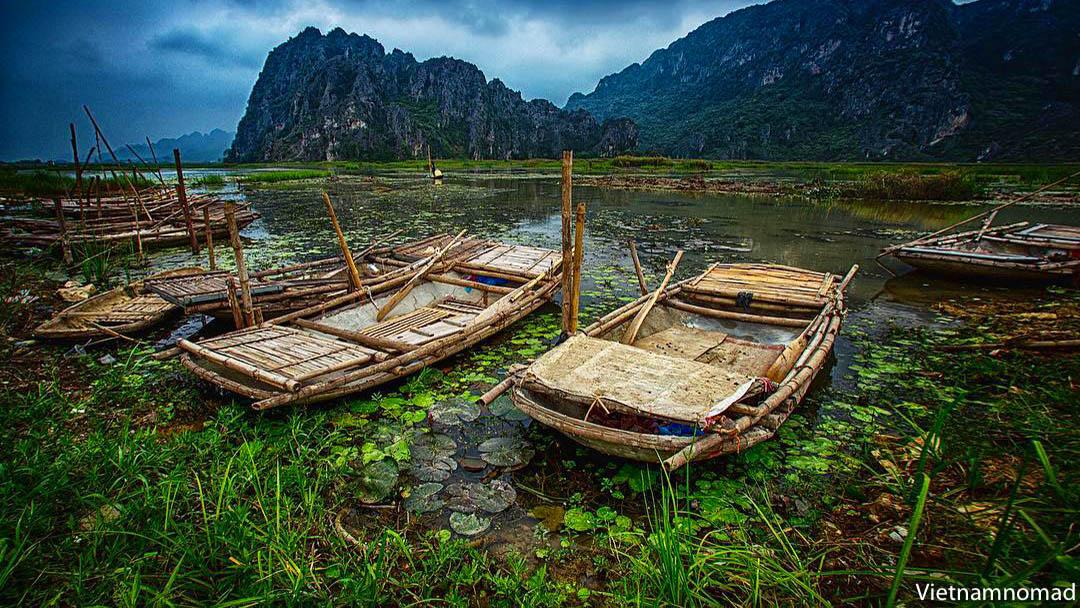 Van Long lagoon