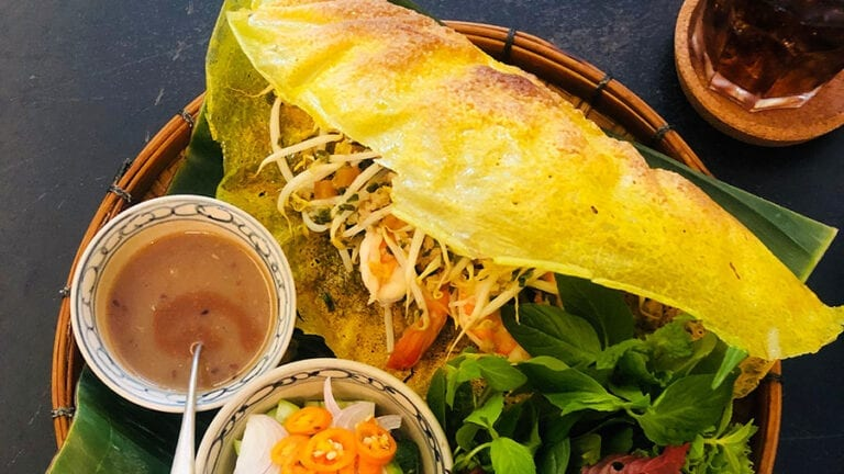 Top Vietnamese food - Banh Xeo