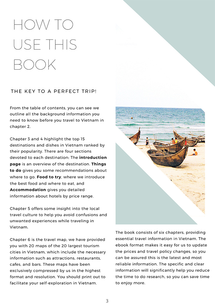 Vietnam Travel Guide Book How To Use