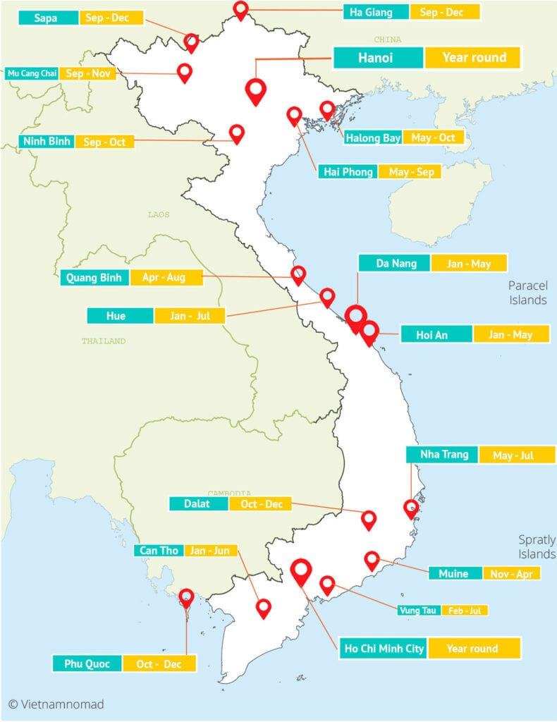 Vietnam map | Map of Vietnam