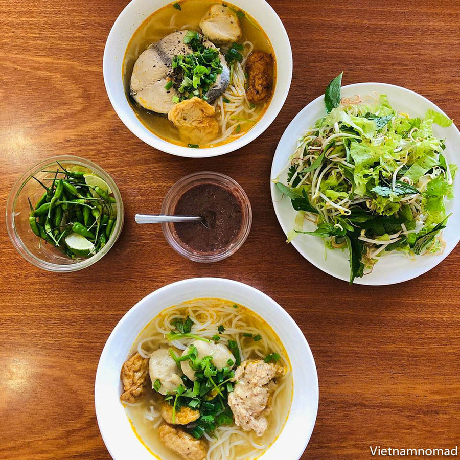 Must-try dishes in Quy Nhon - Bun Ca