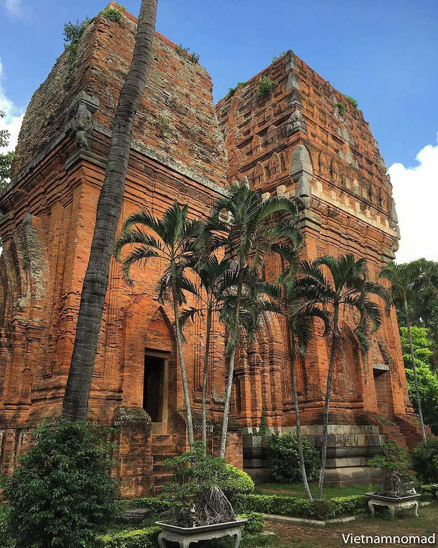 Top attractions in Quy Nhon - Thap Doi