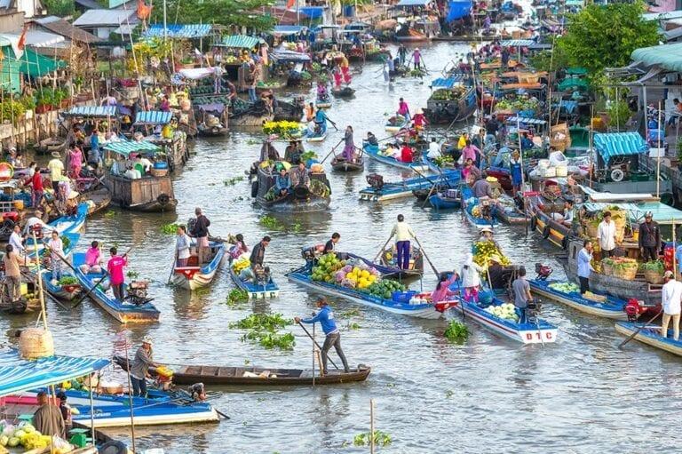 3 week Vietnam itinerary - Mekong Delta